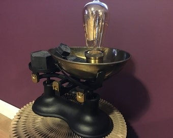 Weighing Scales Lamp