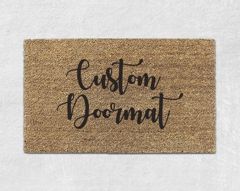 Custom Doormat - Custom Door Mat - Personalized Door Mat - Personalized Doormat -  Personalized Welcome Mat - Custom Welcome Mat - Funny 010