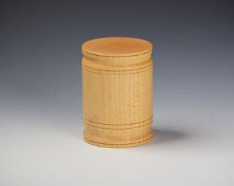 Keepsake barrel box - Maple
