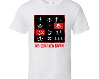 "Pirate Flags ""No Quarter Given"" T-Shirt"