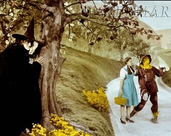 Wizard of Oz - Judy Garland - Wizard of Oz Poster - Wall Art - Movie Print - Movie Art - Movie Lover - 12x18 (JS1296)
