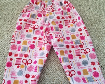 Baby Pants - 18 months (sewing print)