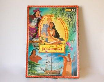 Vintage - 1995 - Disney Pocahontas Jigsaw Puzzle - COMPLETE