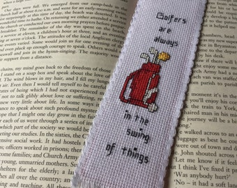 Bookmark - Golf bag