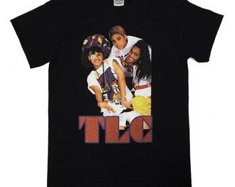 Custom TLC Vintage Classic 90s Hip Hop T-shirt