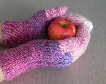 soft wool mittens, winter gloves, warm winter mittens, women's mittens, woolen mittens, warm mittens, knitted gloves, winter accessories