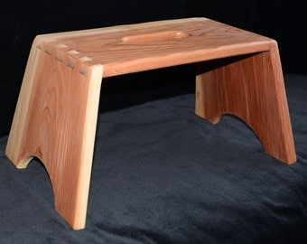 Redwood Step Stool