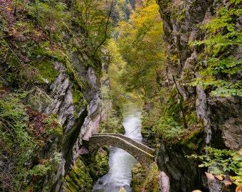 Les gorges de l'areuse, Switzerland