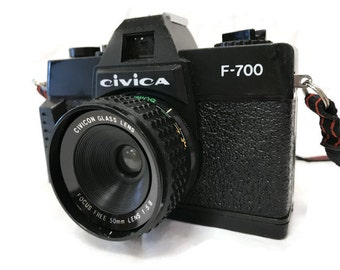 Vintage 35mm Toy Camera - Civica F700 Camera