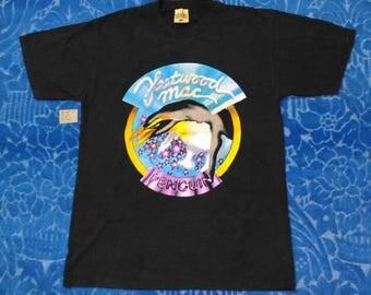 Rare!!!!...Vintage FLEETWOOD MAC PENGUIN Tour '94 Full Frint Made In U.S.A. T Shirt