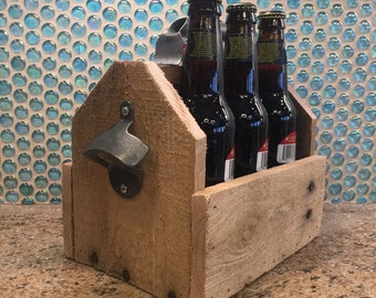 Upcycled Pallet Six Pack