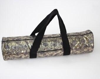 Bronze Metallic Yoga Mat Bag