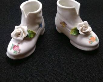German Porcelian Shoes