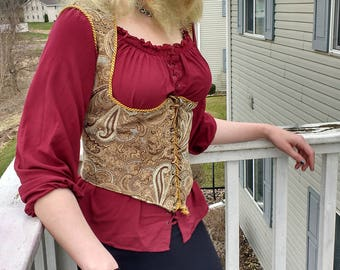 Underbust Corset Vest-Countess