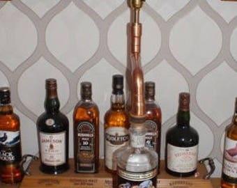 Steampunk Vintage Copper Pipe Light