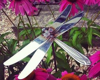 Welded Silverware Dragonfly