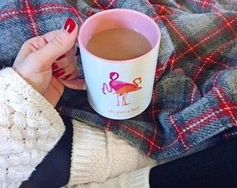 Who gives a flock (PINK) mug