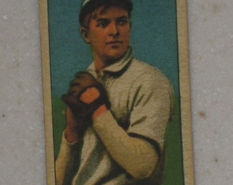 1909/10 T206 Christy Mathewson Ty Cobb King Of Smoking Back