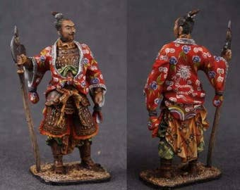 Tin toy soldier 54 mm,Chinese General,Elite painting
