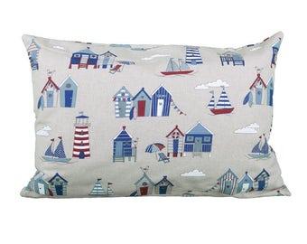 Pillow rectangle North Sea Beach maritime