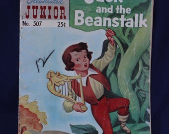 Jack and the Beanstalk no. 507 Classics Illustrated Junior vintage 1950's comic book