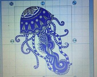 complex jelly fish