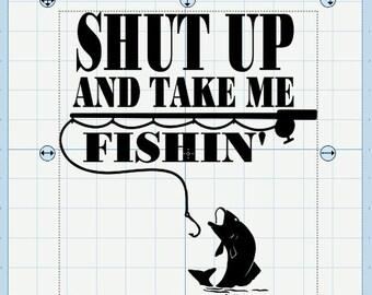 Take me fishing etsy for Take me fishing