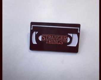Stranger Things - Now On VHS Enamel Pin