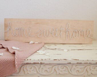 Home Sweet Home String Art Sign