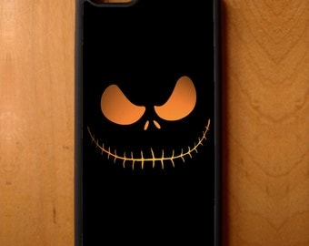 Nightmare Before Christmas Jack O'Lantern Phone Case Samsung Galaxy S6 S7 S8 Note Edge Apple iPhone 4 5 5S 5C 6 6S 7 SE Plus + LG G3 skin
