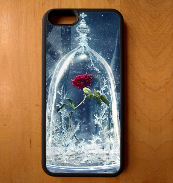 Beauty and the Beast Rose Vase Movie Disney Phone Case Samsung Galaxy ...
