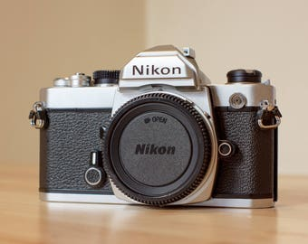 Working Nikon FM SLR Near Mint!