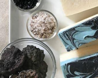 Volcanic Lava Blue Icelandic Soap