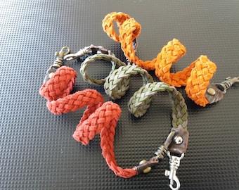 Bright Suede Braided Bracelets