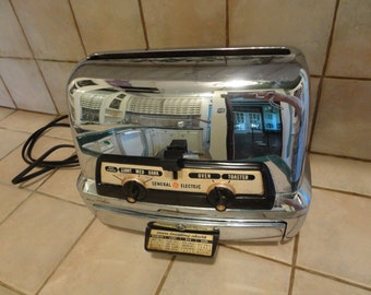 CHROME GE TOASTER with Oven - Original Toaster Oven