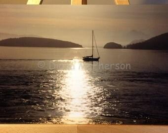 Sunrise Sail, Puget Sound, WA