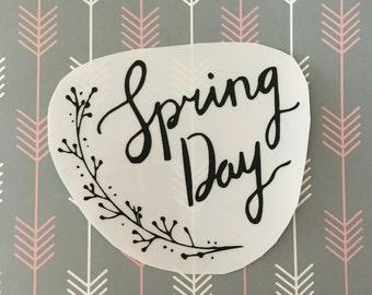 bts spring day sticker