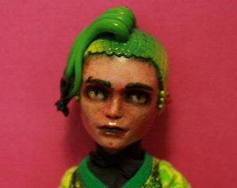 003/Three (OOAK Custom Monster High Repaint)