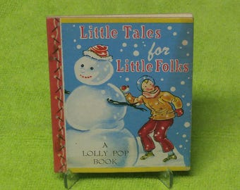1949 Lolly Pop Book. Little Tales for Little Folks. GEM. 60%OFF