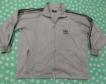 vintage ADIDAS SWEATER EMBROIDERED trefoil casual sweatshirt size M