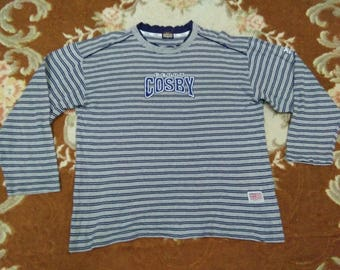 vintage COSBY T SHIRT long sleeve