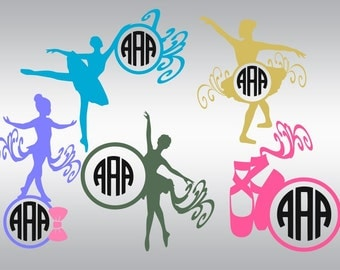 Ballerina svg, Ballet svg, Ballerina clipart, Ballerina silhouette, Tiny dancer svg, Cricut, Cameo, Cut file, Clipart, Svg, DXF, Png, Eps