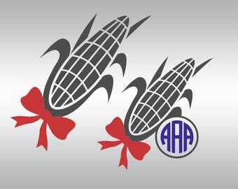 Corn svg, Farm svg, Vegetable svg, Corn clipart, Corn silhouette, Corn vector, Kitchen svg, Cricut, Cameo, Clipart, Svg, DXF, Png, Pdf, Eps
