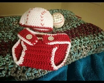 Baby Hat and Diaper Cover
