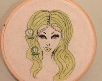 Hayley Embroidery Hoop