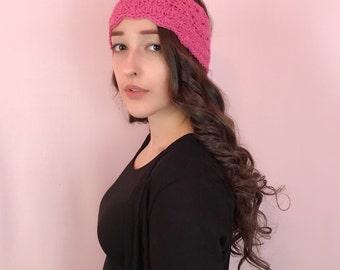 Deep Pink Headband