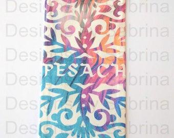 PESACH WINE BAG-Passover-Kiddush-Seder-Jewish Holiday-Kosher-Hebrew-Thank You Gift-Wine Tote-Hostess Gift-Jewish Gift