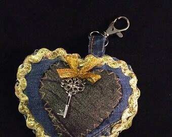 "Keychain ""key of my heart"""