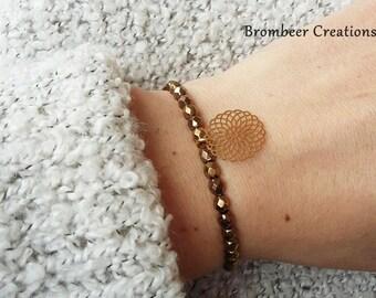 Bracelet mandala, bracelet mandala gold, Friendship Bracelet, mother's day, mark bracelet, gold bracelet, bracelet minimalist, gift