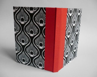 """Book """"Black and white Peacock"""""""